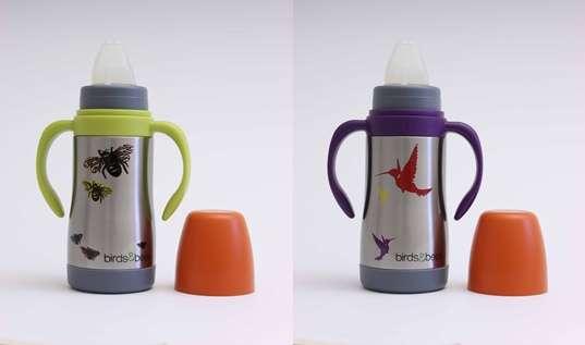 Nature-Themed Baby Bottles