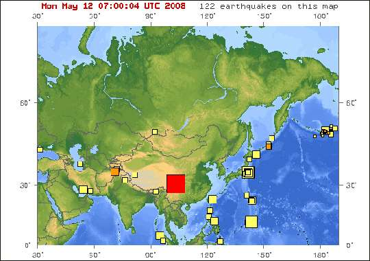 Earthquake Detection via Satellite