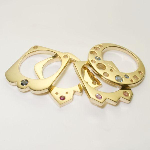 Fashionably Flat Jewelry Pieces