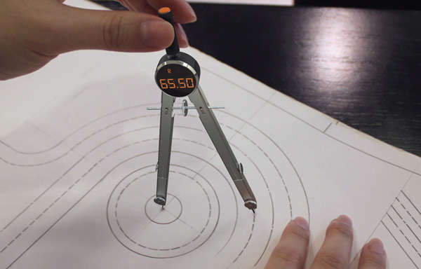Compass Instrument Drawing Circle-drawing Instruments