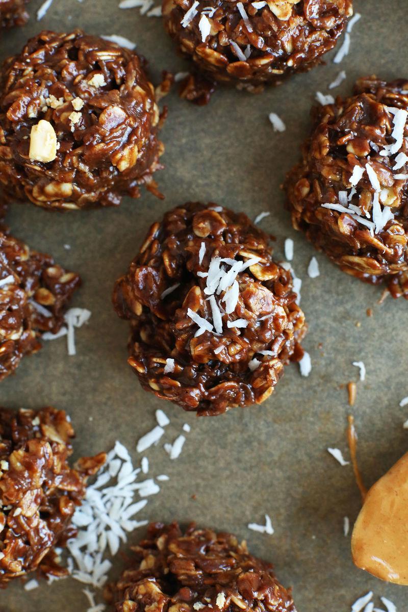Bake-Free Coconut Cookies