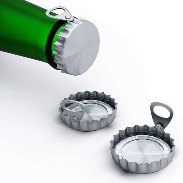 Easy Open Bottle Cap