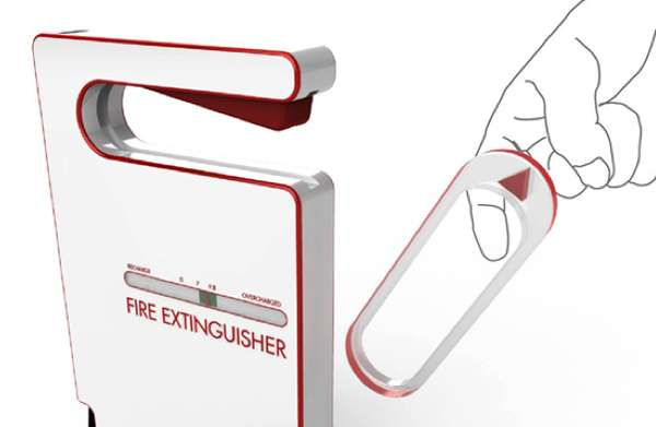 Easy Trigger Fire Extinguisher