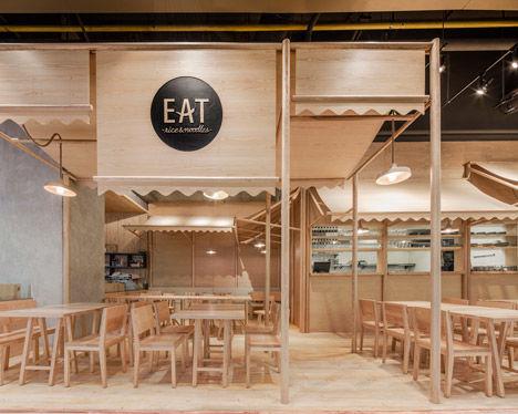 Monochromatic Eatery Interiors