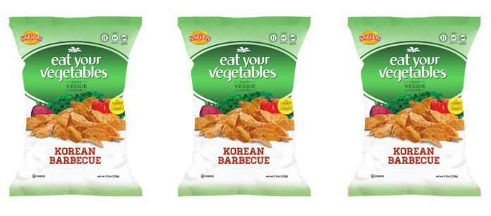Korean-Inspired Vegetable Chips