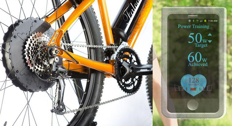 Cardio-Monitoring Bicycle Kits