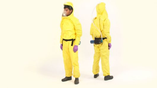 Color-Coded Ebola Suits