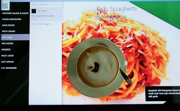 Interactive Smart Restaurants