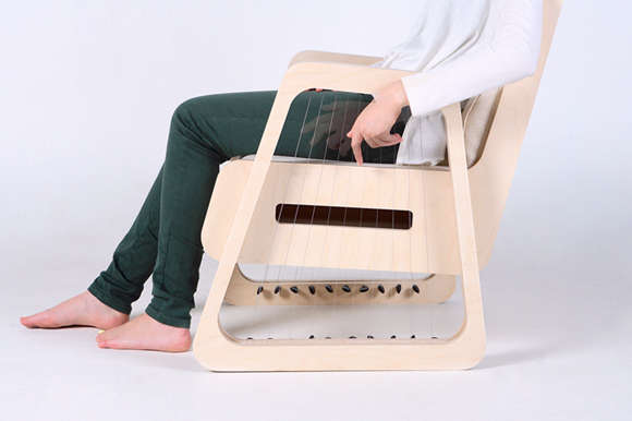 Harp-Infused Seating