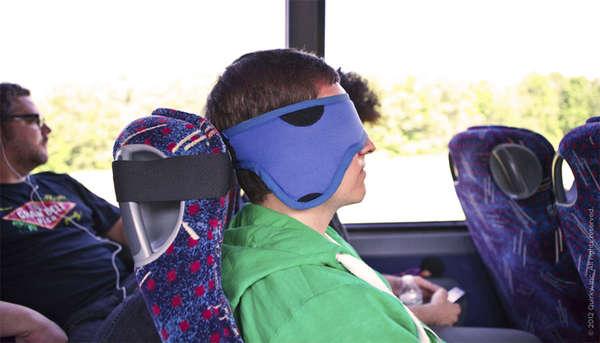 Seat-Strapped Eye Masks