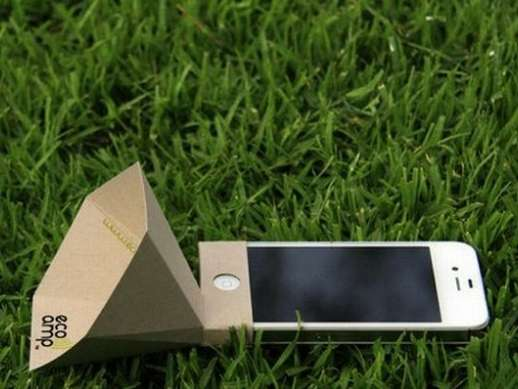 Cardboard Smartphone Speakers