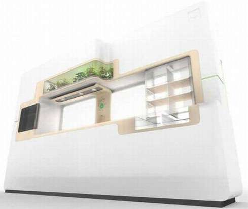 Futuristic Eco Kitchen
