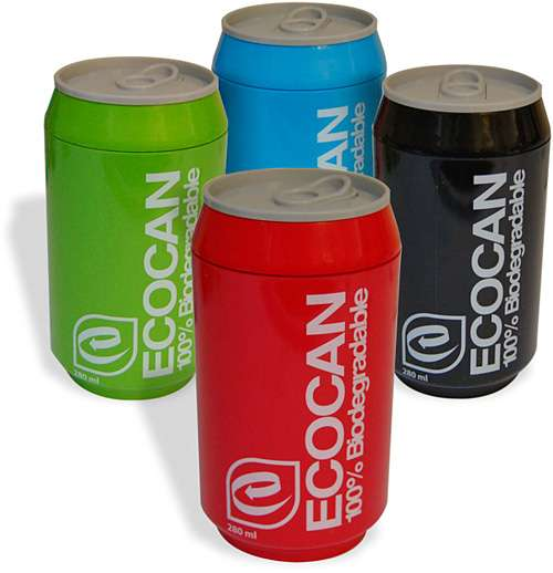 Reusable Soda Cans