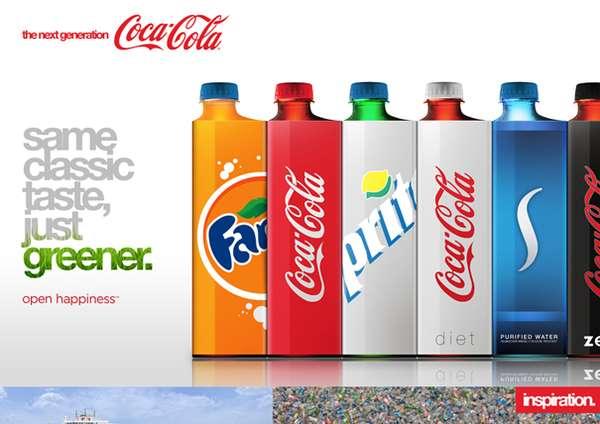 Organic Soda Bottles