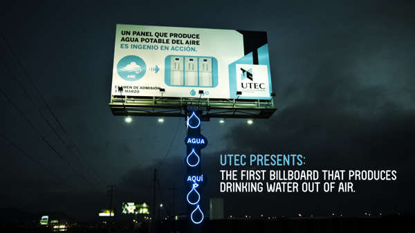 Water Creating Billboards
