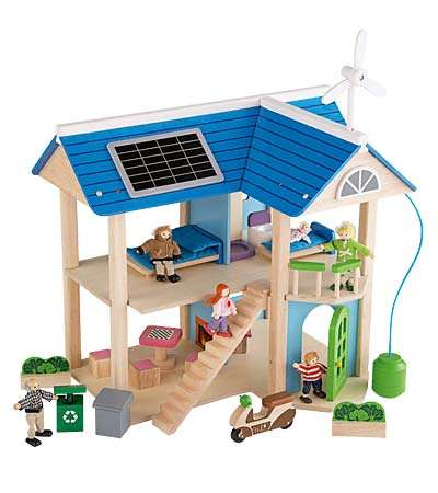 Solar-Paneled Dollhouses