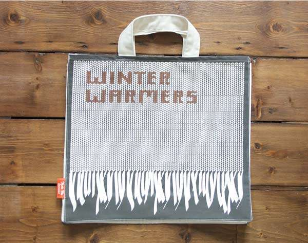 Typographic Eco Bags