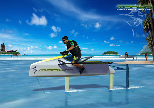 Sharp Eco Jetskis