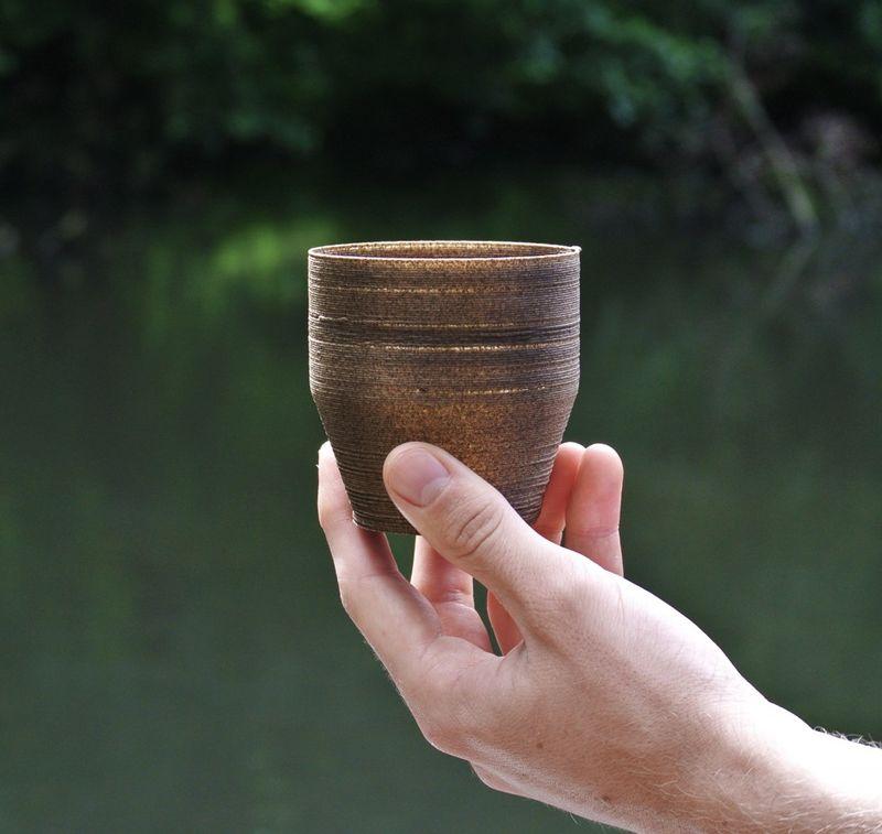 3D-Printed Algae Pots