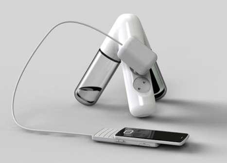 Sculptural Gadget-Chargers