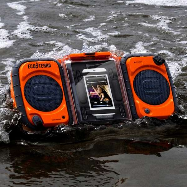 Rugged Adventure-Proof Speakers