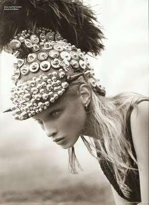 Helmet-Heavy Haute Couture