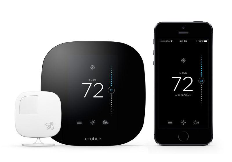 Sleek Thermostat Tech