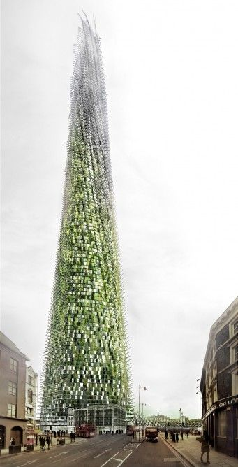 Eco-Friendly Skyscraper Concepts