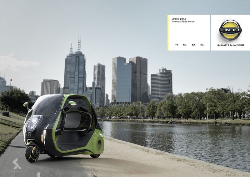 Three-Wheeled Electric Taxis