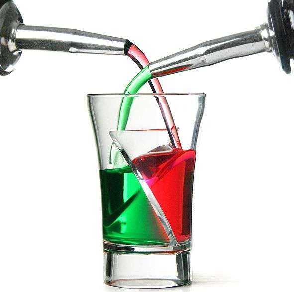 Econ Siptail Twister Shot Glass