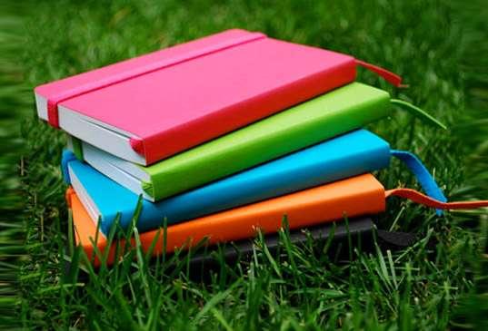 Vibrant Eco-Friendly Workbooks