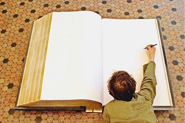 Ginormous Handwriting Books