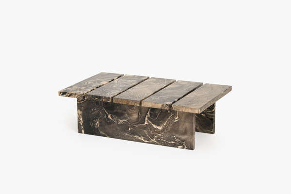 Marble-Patterned Wood Furniture