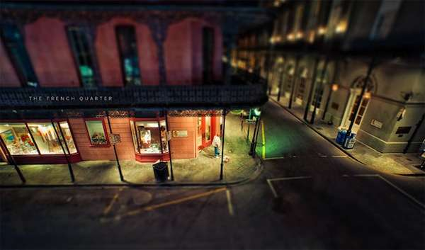 Miniaturized Street Photography
