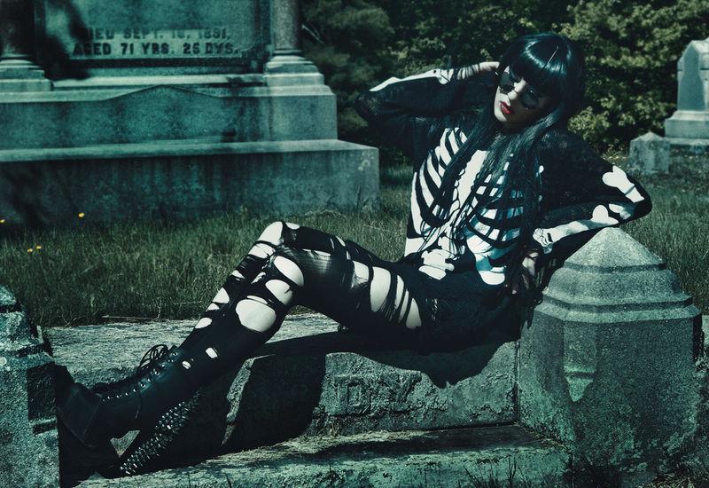 Gothic Graveyard Lookbooks