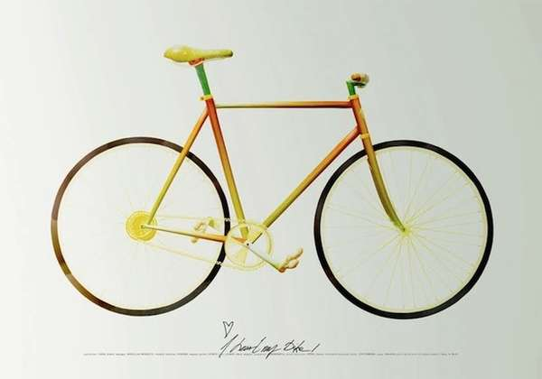 Edible Fixie Bicycles