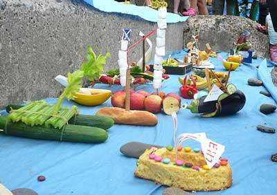 Edible Boat Races