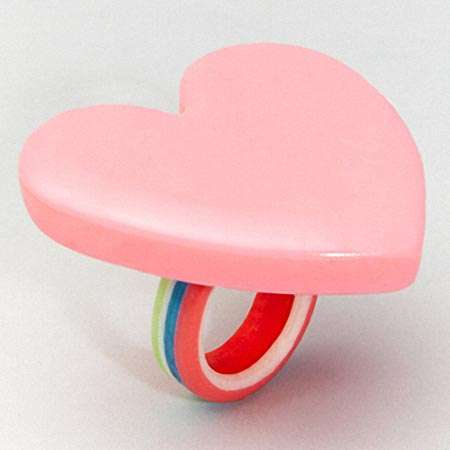 Edible Candy Heart Ring