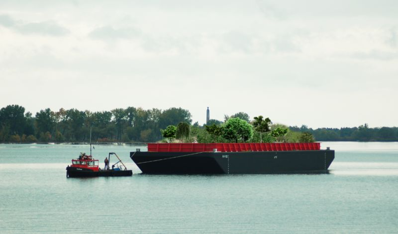 Floating Urban Forests
