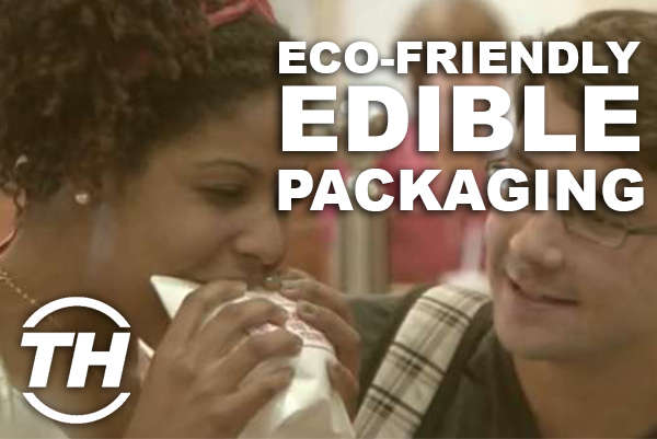 Eco-Friendly Edible Packaging