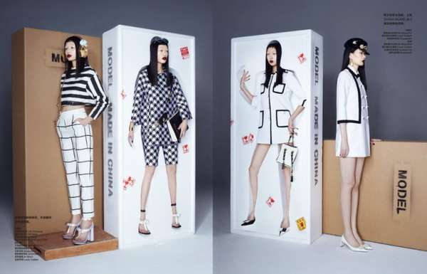 Personified China Doll Editorials