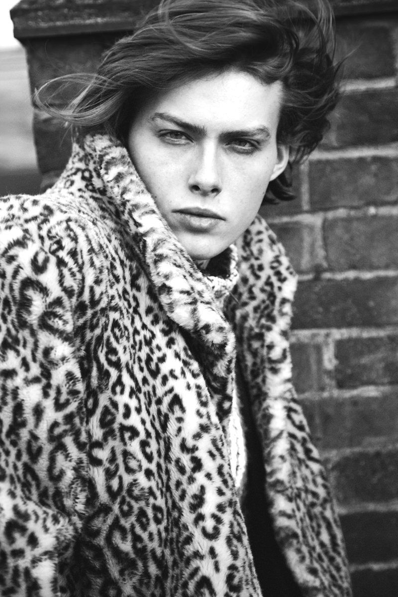 Leopard-Printed Menswear