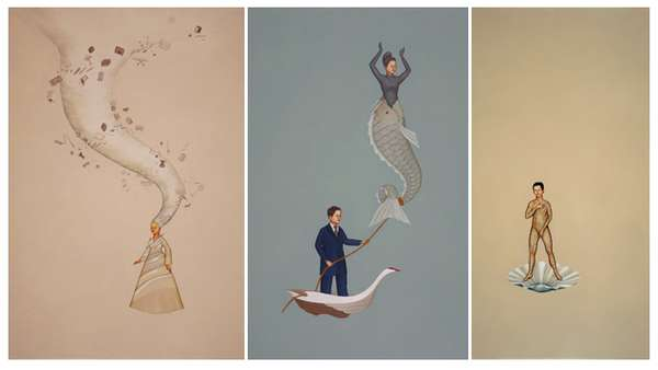Minimalist Fairy-Tale Illustrations