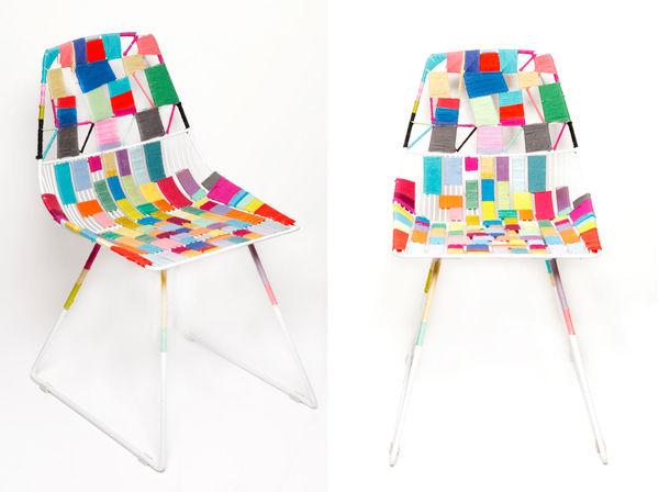 Threaded Mosaic Chairs