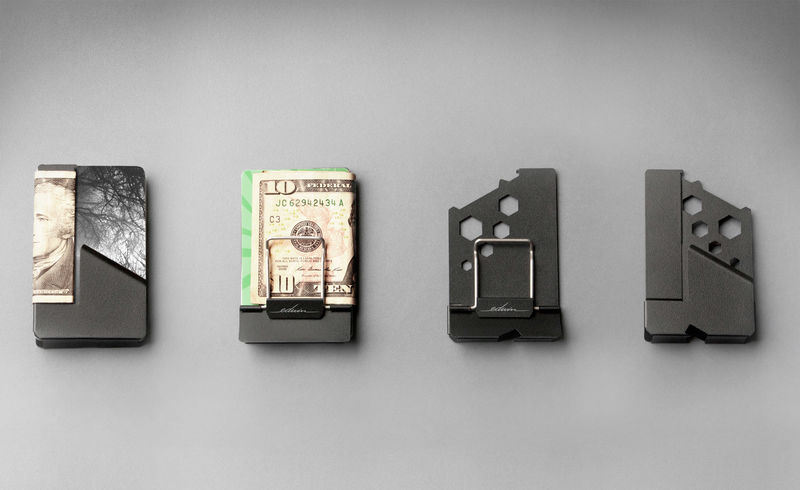 Money Clip-Inspired Wallets