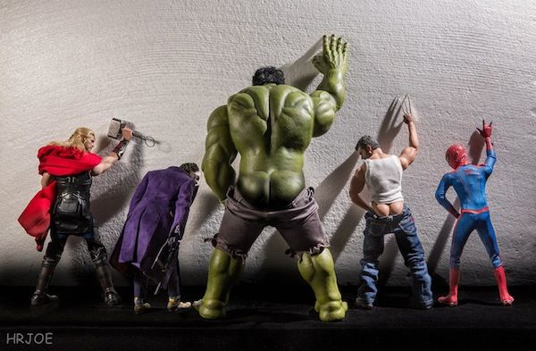 Cheeky Superhero Photography