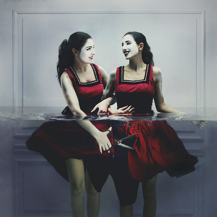 Half-Submerged Portraits