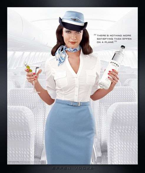 Mile High Club Drink Ads