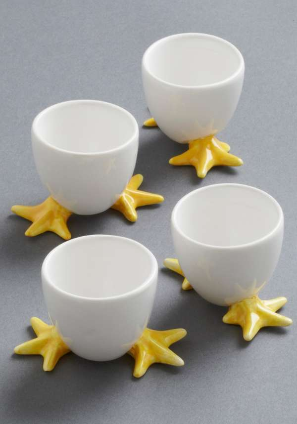 Chick Footed Egg Cups
