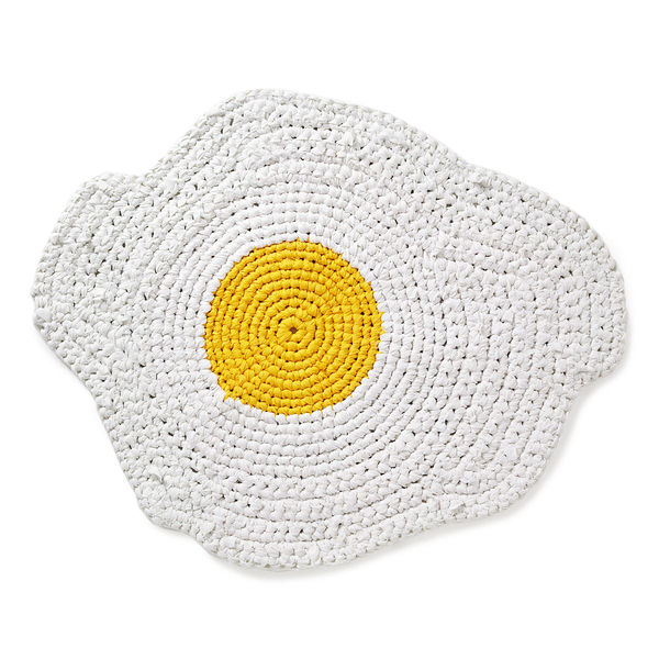 Crocheted Breakfast Rugs